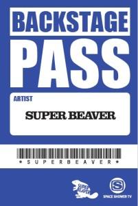 サブ写真:SUPER BEAVER ステッカー